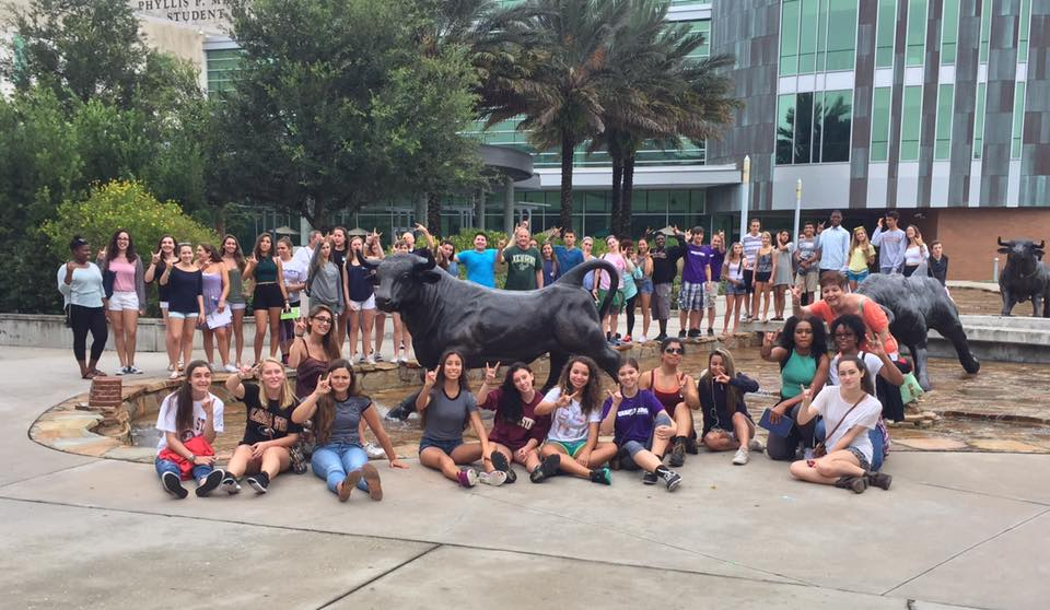 College Tour at USF